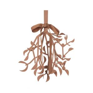 Broste Copenhagen Mistletoe Decoration - Tan