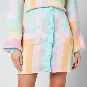 Olivia Rubin Women's Hadley Mini Skirt - Geometric