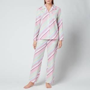 Olivia Rubin Women's Peggy Pyjamas - Multi Pastel Stripe