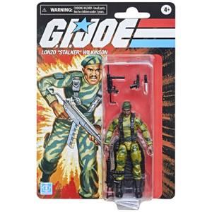 "Hasbro G.I. Joe Retro Collection Lonzo ""Stalker"" Wilkinson Action Figure"