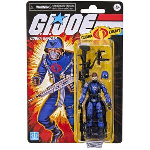 Hasbro G.I. Joe Retro Collection Cobra Officer Action Figure