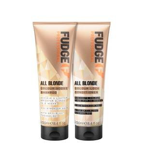 All Blonde Colour Boost Shampoo and Colour Lock Conditioner 250ml