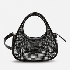 Coperni Women's Exclusive Micro Baguette Swipe Bag - Crystal/Black