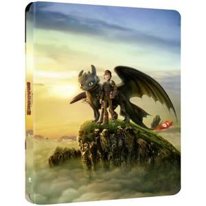 Dragons 2 - Steelbook 4K Ultra HD en Exclusivité Zavvi (Blu-ray inclus)