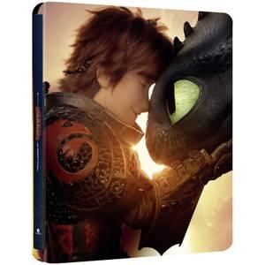 Dragons 3 : Le monde caché - Steelbook 4K Ultra HD en Exclusivité Zavvi (Blu-ray inclus)