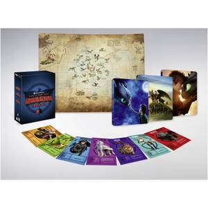 How to Train Your Dragon Trilogy -  4K Ultra HD Steelbook Boxset (Includes Blu-ray)