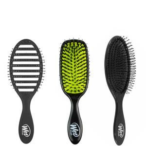 WetBrush Hair Bundle - Black (Worth £37.97)