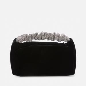 Alexander Wang Women's Scrunchie Mini Bag Velvet W Crystal - Black