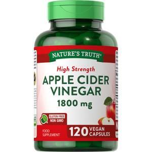 Apple Cider Vinegar 1800mg - 120 Capsules