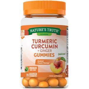 Turmeric Curcumin Gummies with Ginger Extract - 70 Gummies