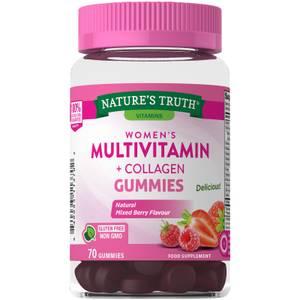 Women's Multivitamins + Collagen - 70 Gummies