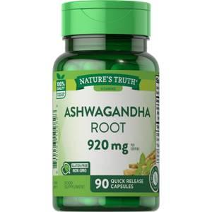 Ashwagandha Root 920mg - 90 Capsules