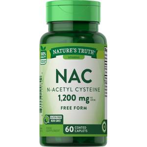 NAC (N-Acetyl Cysteine) 1200mg - 60 Caplets