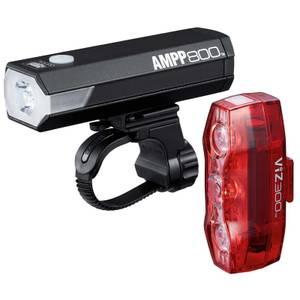 Cateye AMPP 800/Viz 300 Light Set