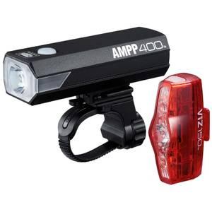 Cateye AMPP 400/Viz 150 Light Set