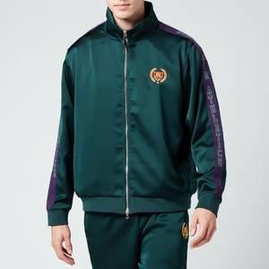 Bel-Air Athletics Men's Academy Track Jacket - Ivy, Court Purple