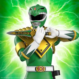 Super7 Mighty Morphin Power Rangers ULTIMATES! Figure - Green Ranger