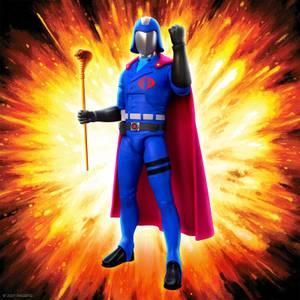 Super7 G.I. Joe ULTIMATES! Figure - Cobra Commander