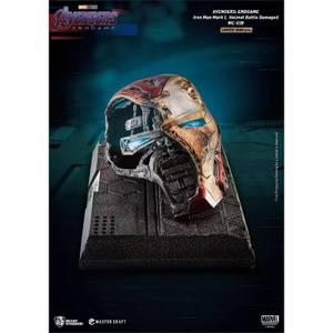 Beast Kingdom Avengers: Endgame Iron Man Mark L Battle Damaged Helmet Master Craft Statue