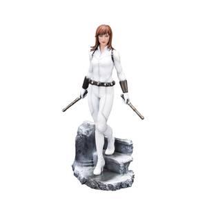 Kotobukiya Women Of Marvel ARTFX PREMIER Statue - Black Widow (White Costume)