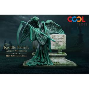 The Riddle Family Grave Monolith Polyresin Statue
