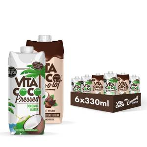 Vita Coco Mixed 330ml Bundle - Pressed Coconut/Chocolate