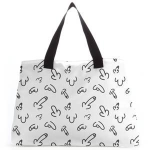 Peckers Tote Bag
