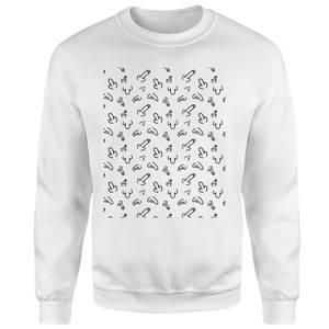 Wang Unisex Sweatshirt - White