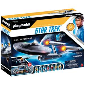 Playmobil Star Trek U.S.S Enterprise Limited Edition Collectible Toy (70548)