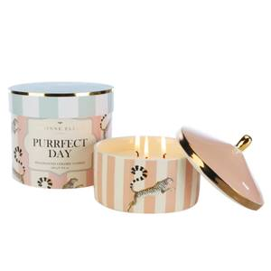 Yvonne Ellen Puurfect Day 3 Wick Candle - Rose & Oudh
