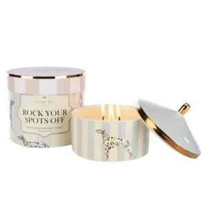 Yvonne Ellen Rock Your Spots Off 3 Wick Candle - Cotton