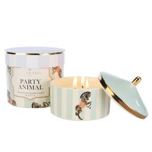 Yvonne Ellen Party Animal 3 Wick Candle - Cranberry & Oakwood