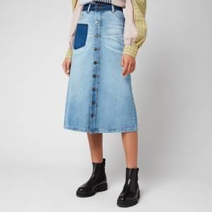 Munthe Women's Rally Skirt - Blue