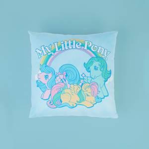 My Little Pony Retro Rainbow Square Cushion