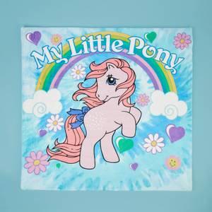 My Little Pony Cottoncandy Rainbow Retro Bed Throw