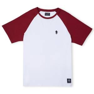 Gryffindor House Panelled T-Shirt - Burgundy