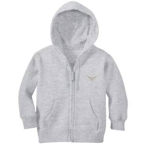 Harry Potter Golden Snitch Embroidered Kids' Zip Hoodie - Grey