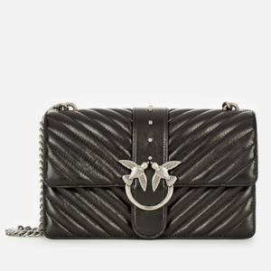 Pinko Women's Love Classic Icon Quilted Shoulder Bag - Black
