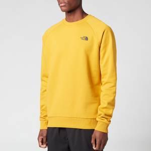 The North Face Men's Raglan Redbox Sweatshirt - Arrowwood Yellow