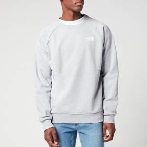 The North Face Men's Raglan Redbox Sweatshirt - TNF Light Grey Heather