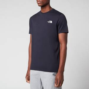The North Face Men's Simple Dome T-Shirt - Aviator Navy/TNF White