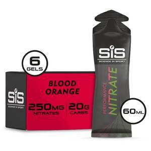 Science in Sport Performance Nitrate 60ml Gel Box of 6