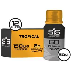 Science in Sport GO Caffeine Shot 12 Pack
