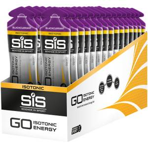 Science in Sport GO Isotonic Energy Gel Box of 30 - Blackcurrant