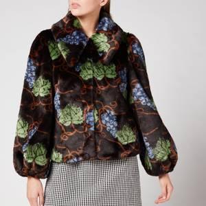 Shrimps Women's Filbert Coat - Black Multi