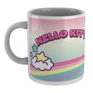 Hello Kitty Rainbow And Unicorn Mug