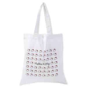 Hello Kitty Classic Tote Bag - White