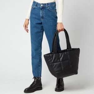 DKNY Women's Poppy Large Tote Bag - Black/Silver