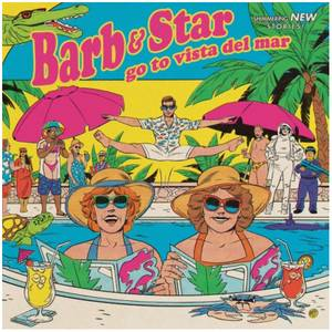 Mondo - Barb And Star Go To Vista Del Mar (Original Soundtrack) 180g LP (Pink And Yellow Split)