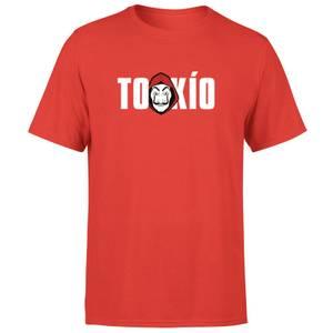 Camiseta La Casa de Papel Tokio Hombre - Rojo